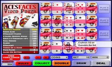 Aces And Faces Screenshot