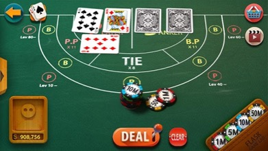 Baccarat Table Screenshot