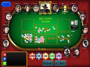 Baccarat Multiplayer Table