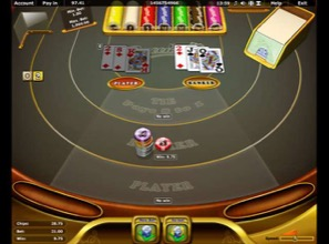 Baccarat On Tablet