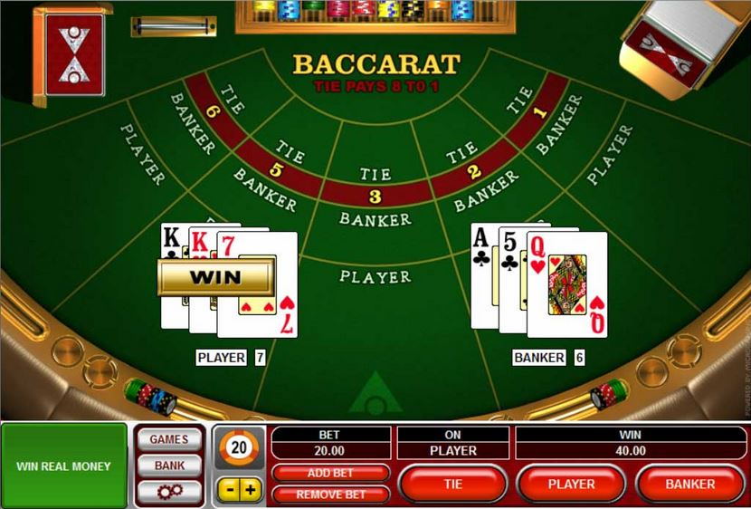 Free Baccarat Casino Game