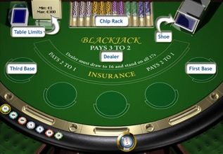 Blackjack Help Screenshot