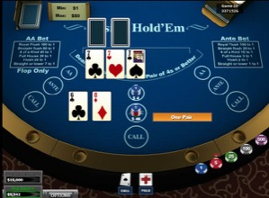 Casino Holdem - One Pair
