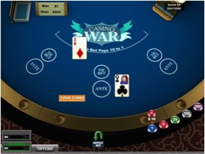Casino War At Betway Casino