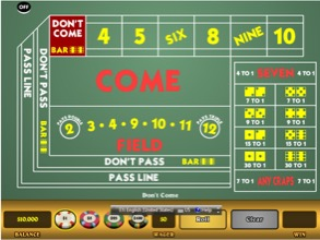 Craps on Tablet