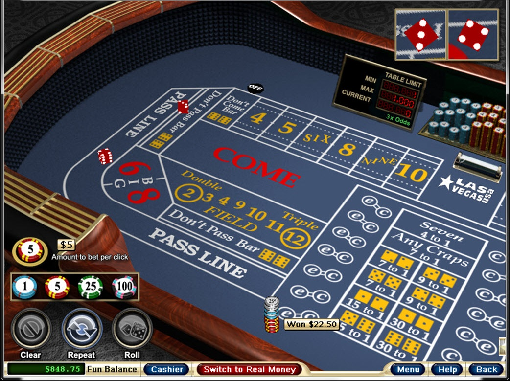 online casino game data