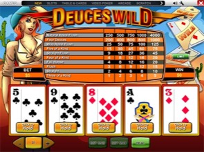 Deuces Wild At Betway Casino