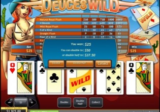 Deuces Wild Win Image
