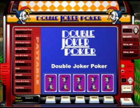Double Joker Poker Slot Machine