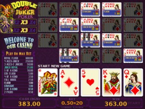 Double Joker Poker x16