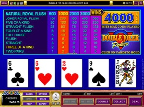 Double Joker Poker At Betway Casino