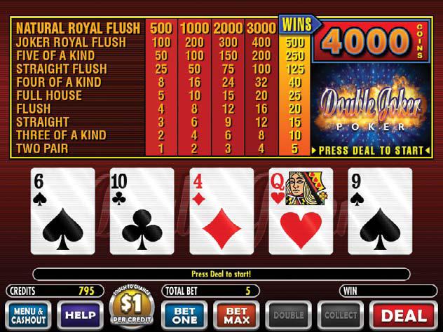 joker poker how to play