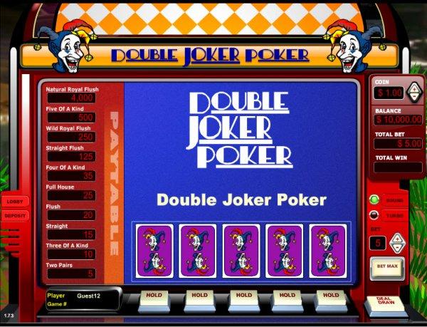 Double Joker Poker Casinos 2020 - Play Video Poker Online