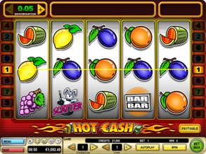 Hot Cash Fruit Machine