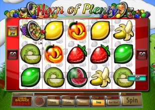 Horn Of Plenty Fruit Machine