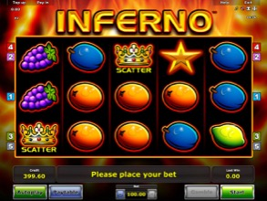 Inferno Fruit Machine