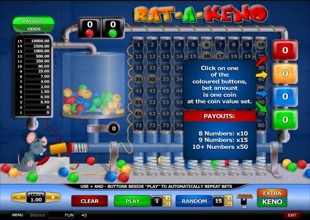 Rat-A-Keno Screenshot