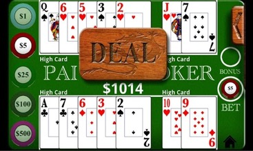 Pai Gow Poker Deal Screenshot