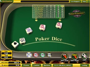 Poker Dice At Go Casino