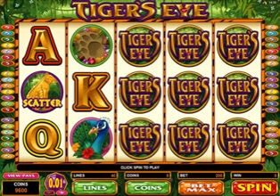Pokies - Tigers Eye