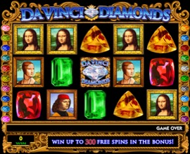 Pokies - Da Vinci Diamonds