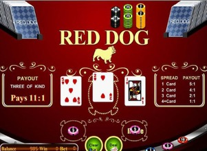 Red Dog Poker Screenshot