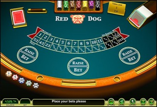 Red Dog Poker - Betting