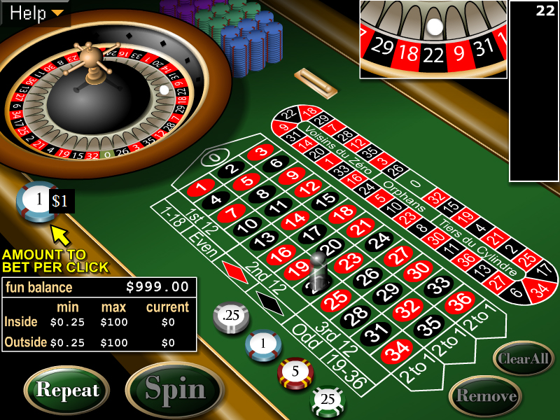 free online casino roulette online