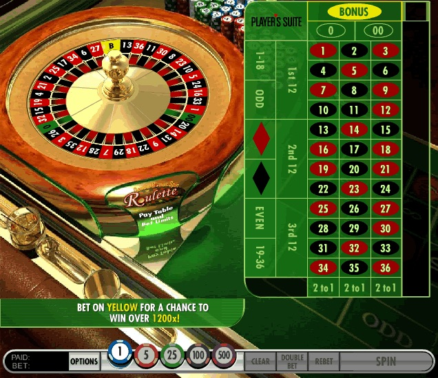 start online casino european roulette casino