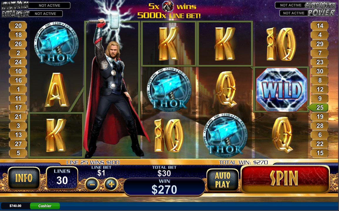 Thor Blimey Slot - Try it Online for Free or Real Money