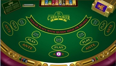3 Card Poker Screenshot