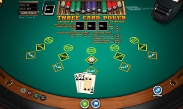 Three Card Poker At Inter Casino