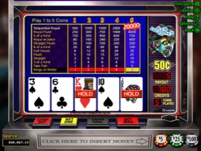 Video Poker Screenshot
