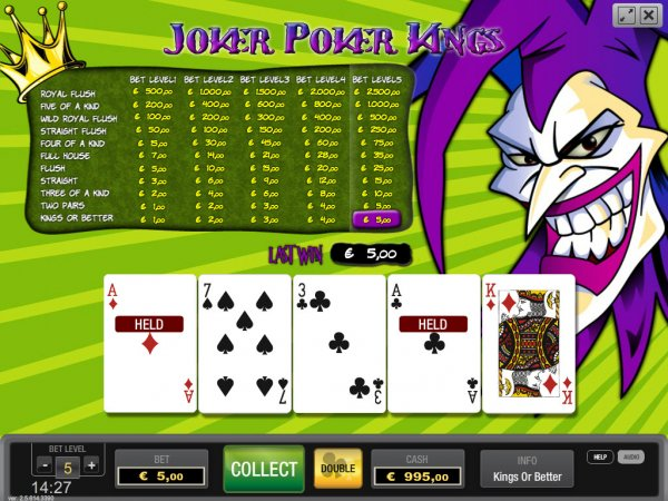 Learn To Play Video Poker