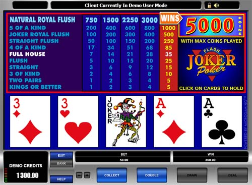 online play casino poker joker