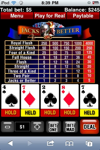 online casino video poker q gaming