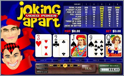 online casino video poker kazino games