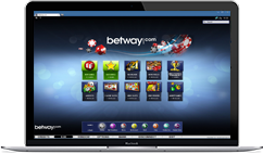 Betway Casino on Desktop
