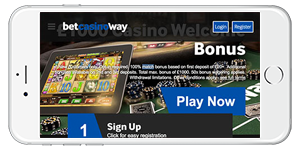 Betway Casino on Mobile