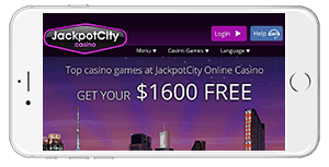 Jackpot City Casino on Mobile