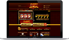 Planet 7 Casino on Desktop