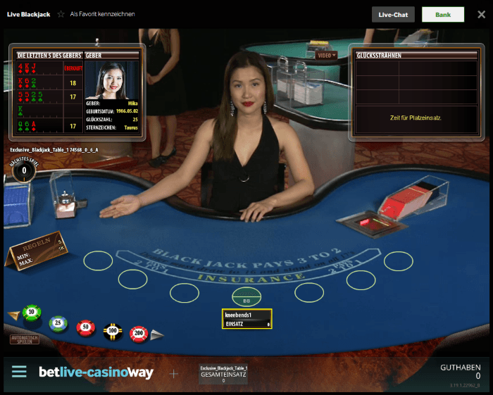 Betway Casino Casino Screenshot #1