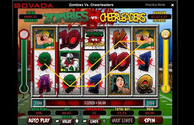 Bovada Casino Casino Screenshot #3