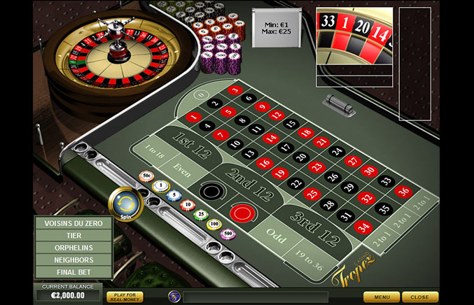 Casino Tropez Casino Screenshot #1