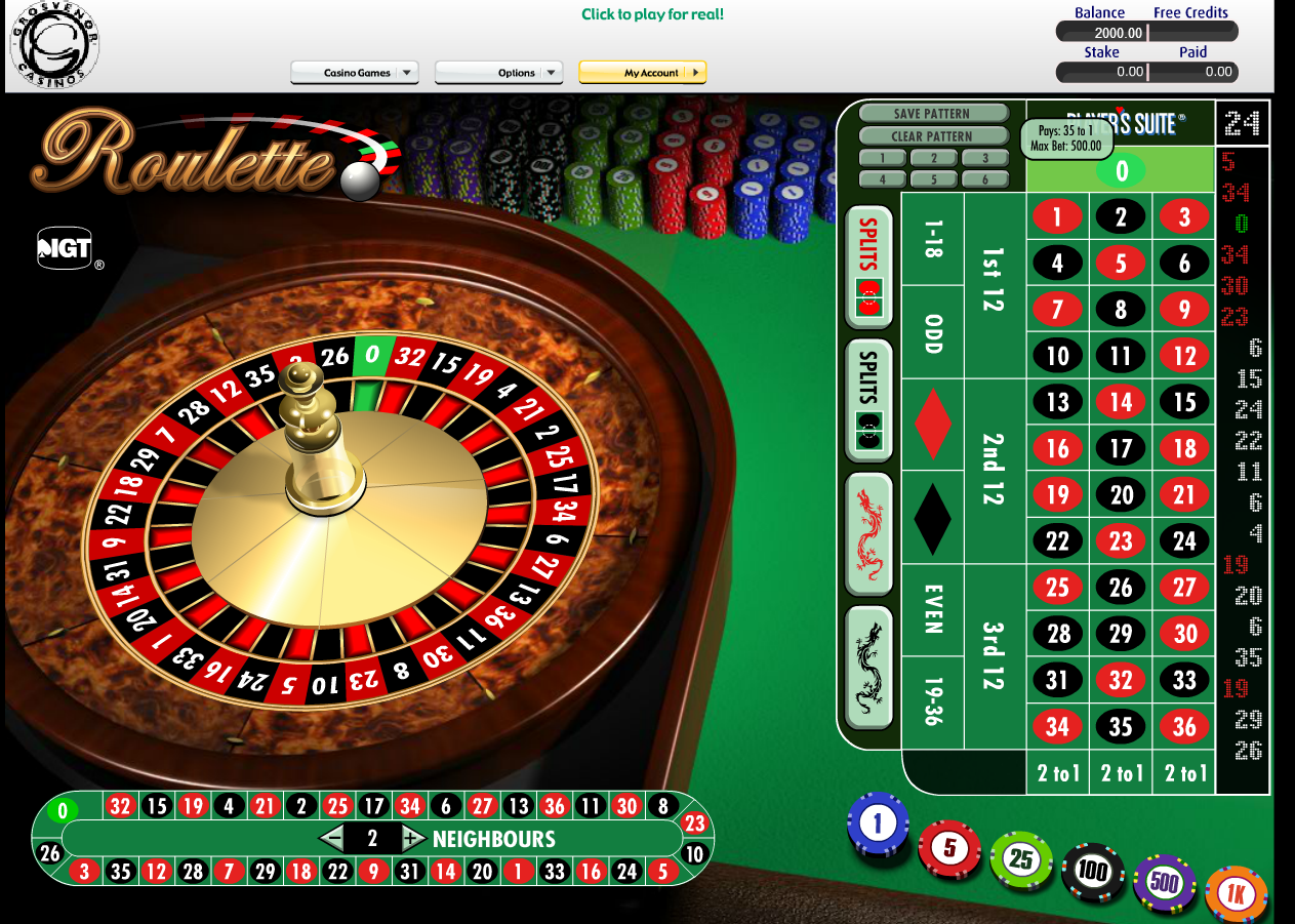 Grosvenor Casinos Casino Screenshot #4