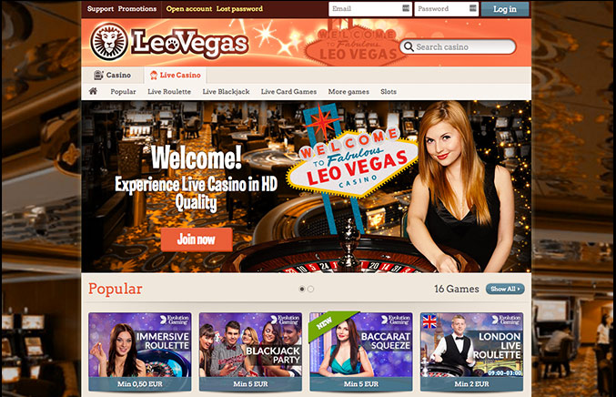 leo vegas casino download