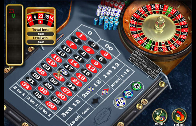 Lincoln Casino Casino Screenshot #1