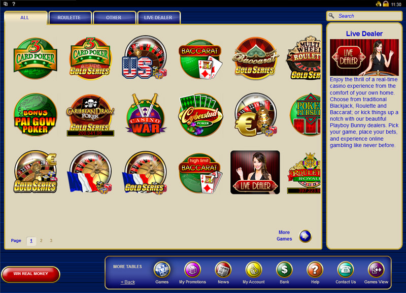 Lucky Nugget Casino Casino Screenshot #1
