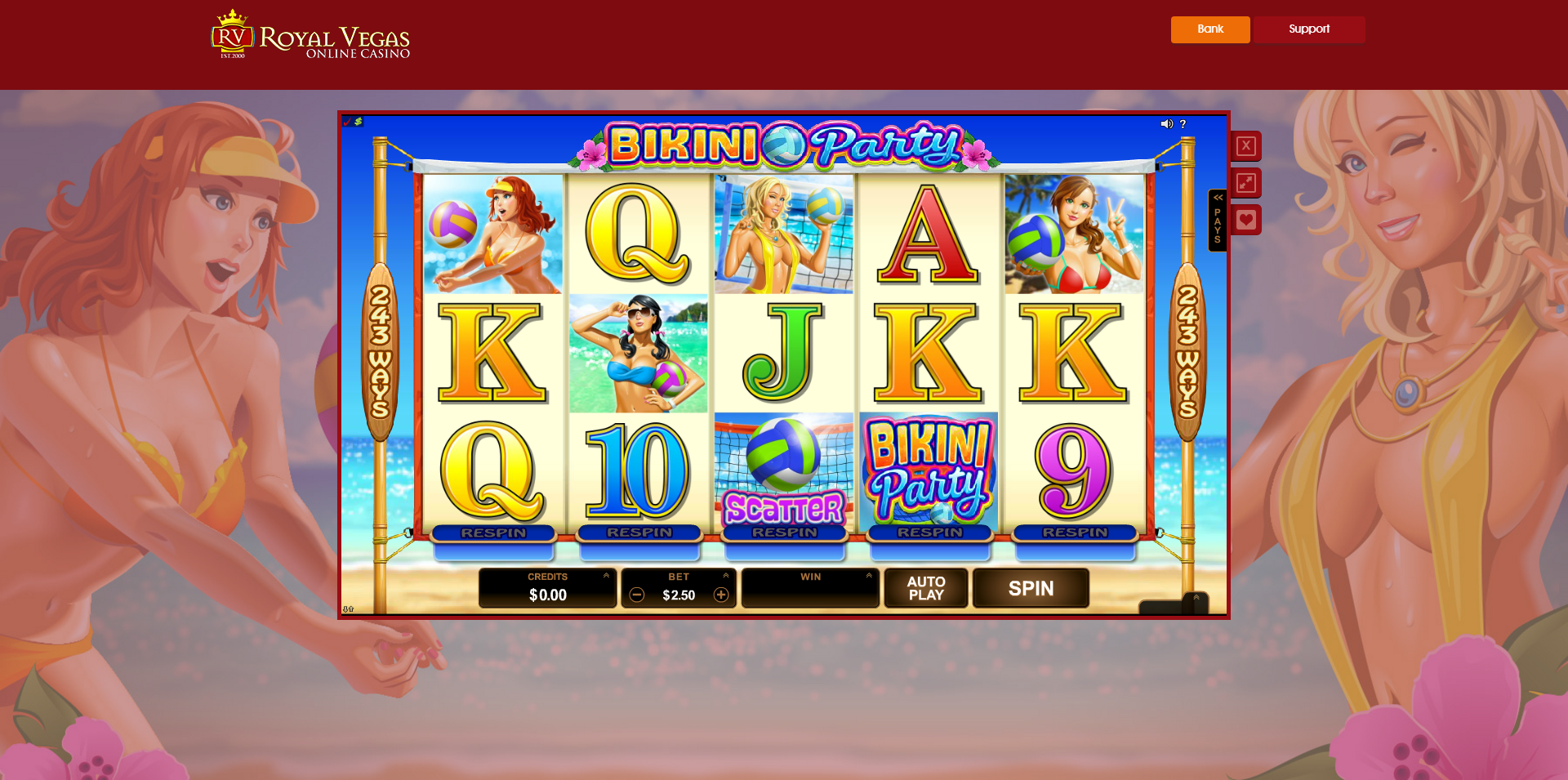 Royal Vegas Casino Casino Screenshot #0