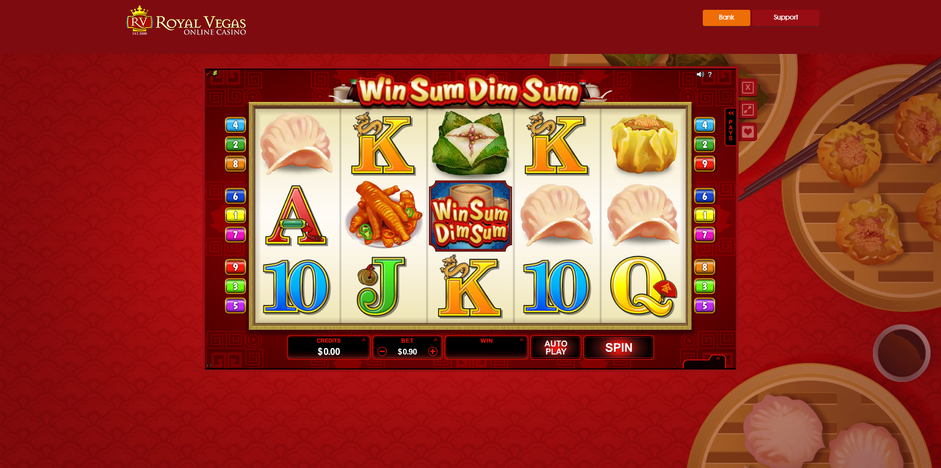 Royal Vegas Casino Casino Screenshot #1